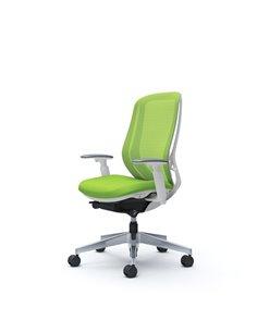 Крісло OKAMURA SYLPHY HIGH BACK WHITE для персоналу