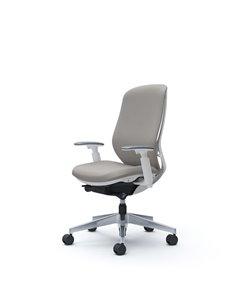 Крісло OKAMURA SYLPHY HIGH BACK FABRIC WHITE для персоналу