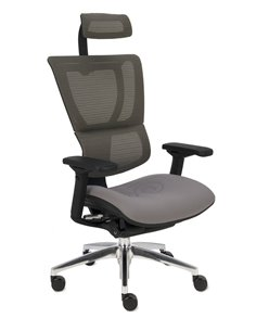 Крісло MIRUS-IOO комп'ютерне, з тканинним сидінням