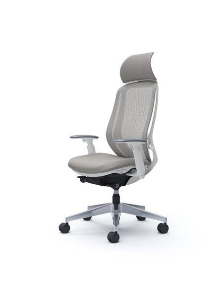 Крісло OKAMURA SYLPHY EXTRA HIGH WHITE для керівника