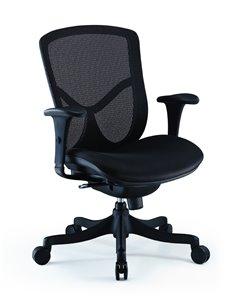 Крісло COMFORT SEATING BRANT SIMPLE (BRSS-LBM-F) з тканинним сидінням, для оператора