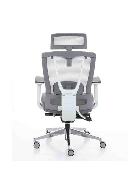 Крісло ERGO CHAIR 2 GREY ергономічне